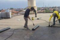 Jasa Pemasangan Waterproofing Membrane Bakar di Jakarta